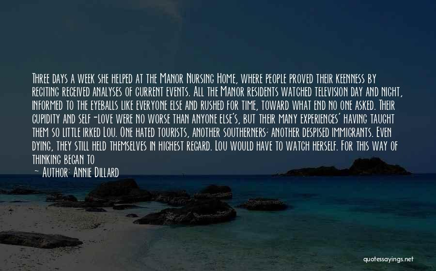 Two Person In Love Quotes By Annie Dillard