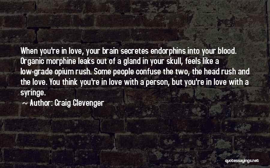 Two Person In Love Quotes By Craig Clevenger