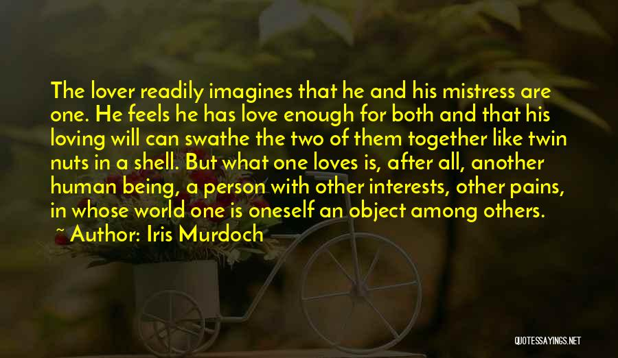 Two Person In Love Quotes By Iris Murdoch