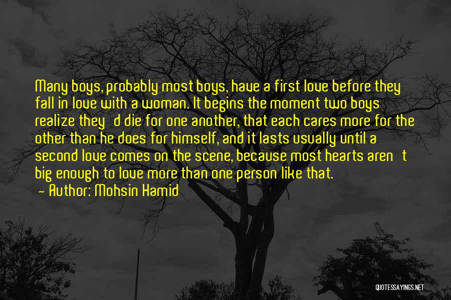 Two Person In Love Quotes By Mohsin Hamid
