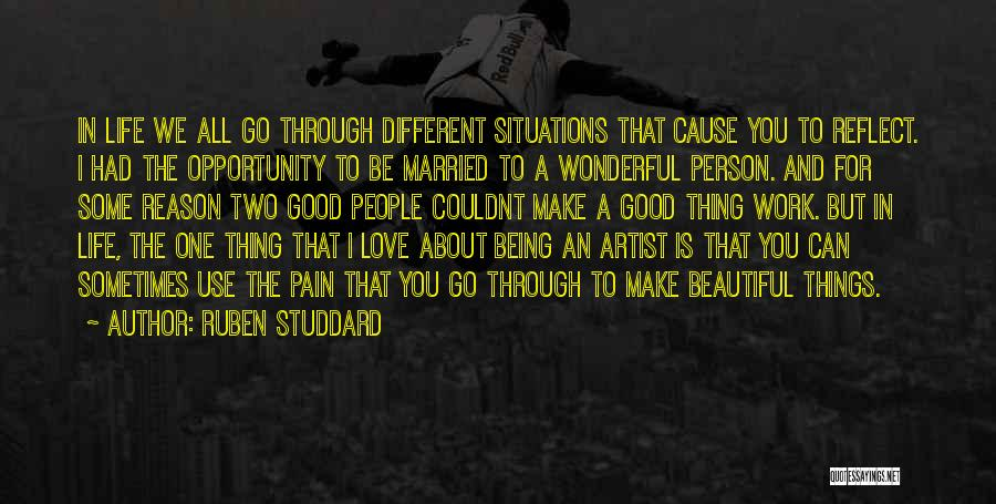 Two Person In Love Quotes By Ruben Studdard