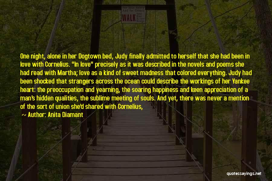 Two Souls One Heart Quotes By Anita Diamant