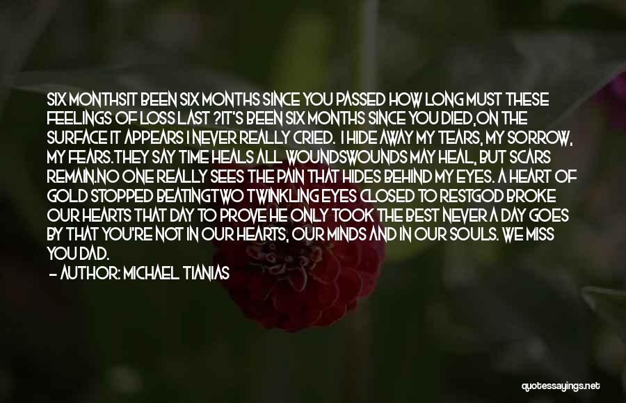 Two Souls One Heart Quotes By Michael Tianias