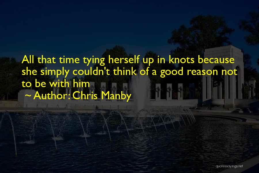 Tying Up Quotes By Chris Manby