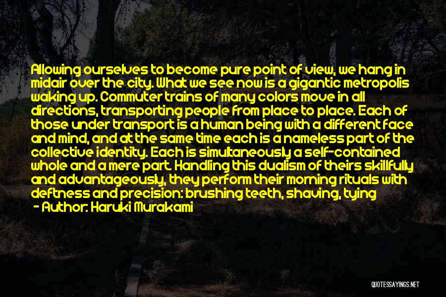 Tying Up Quotes By Haruki Murakami