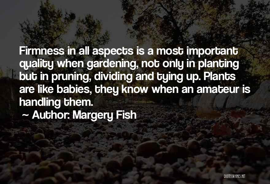 Tying Up Quotes By Margery Fish