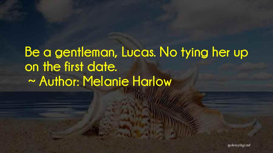 Tying Up Quotes By Melanie Harlow