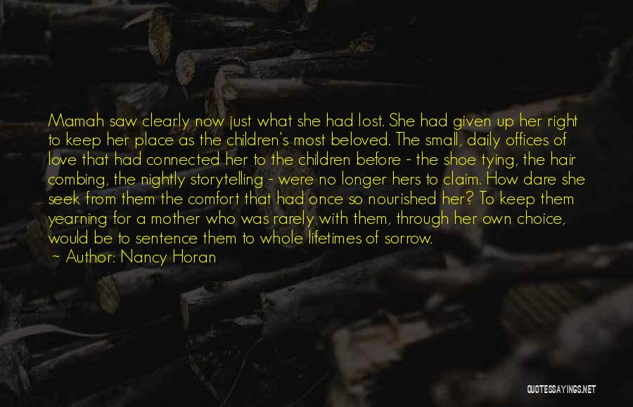 Tying Up Quotes By Nancy Horan