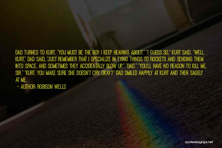 Tying Up Quotes By Robison Wells