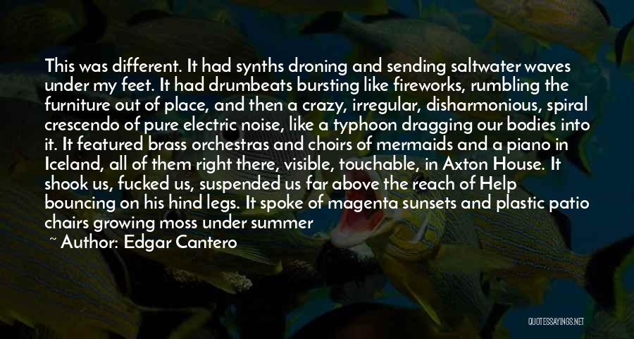 Typhoon Quotes By Edgar Cantero
