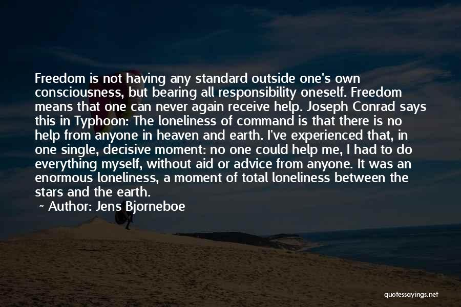 Typhoon Quotes By Jens Bjorneboe