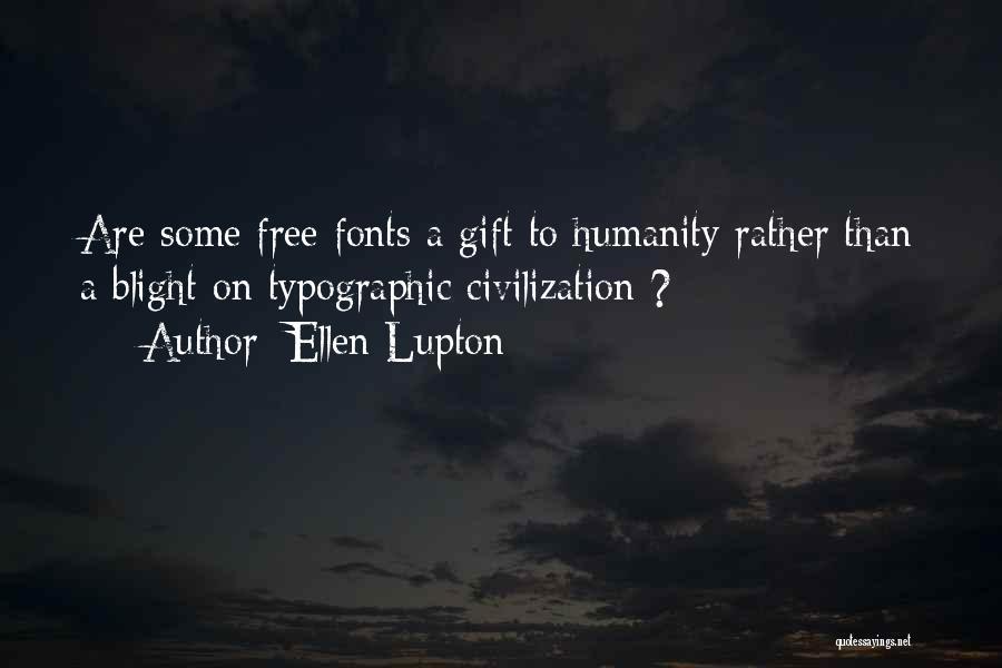 Typographic Quotes By Ellen Lupton