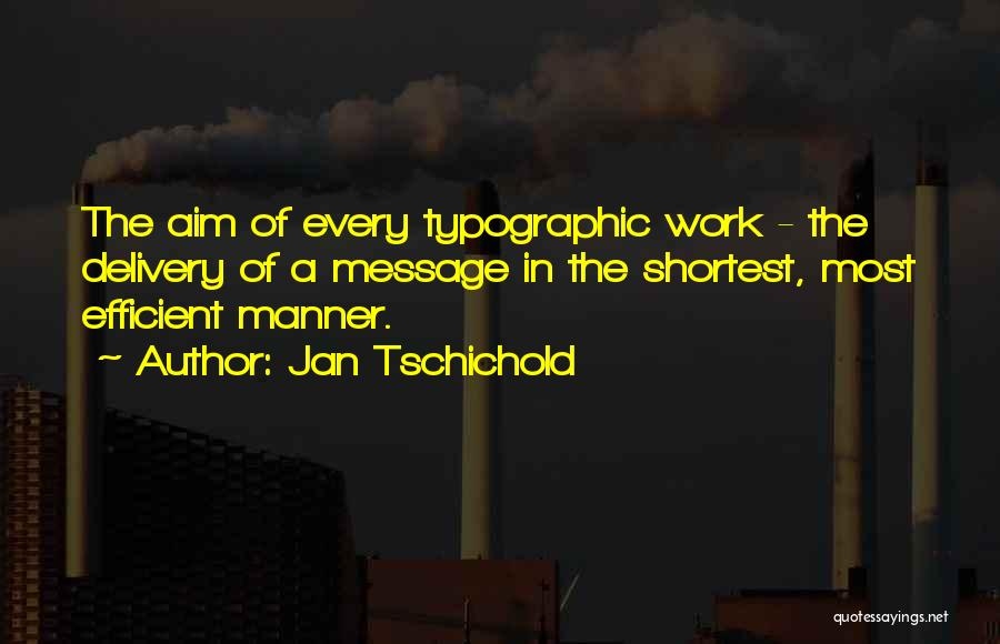 Typographic Quotes By Jan Tschichold