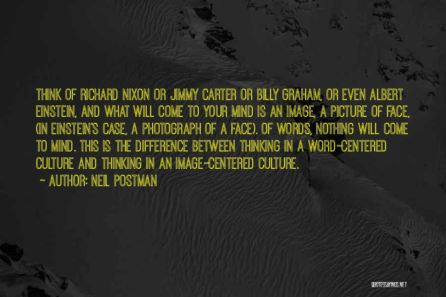 Typographic Quotes By Neil Postman