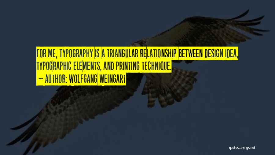 Typographic Quotes By Wolfgang Weingart