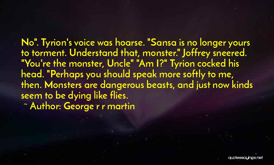 Tyrion Sansa Quotes By George R R Martin