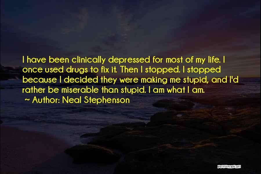 U Can't Fix Stupid Quotes By Neal Stephenson