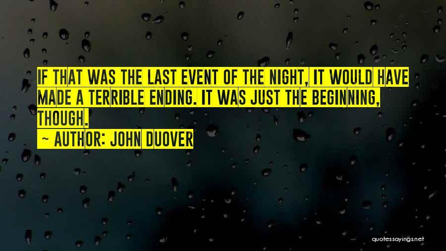 U Made Me Sad Quotes By John Duover