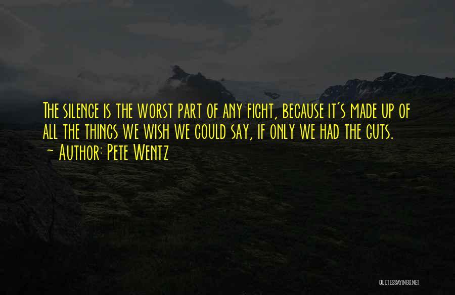 U Made Me Sad Quotes By Pete Wentz