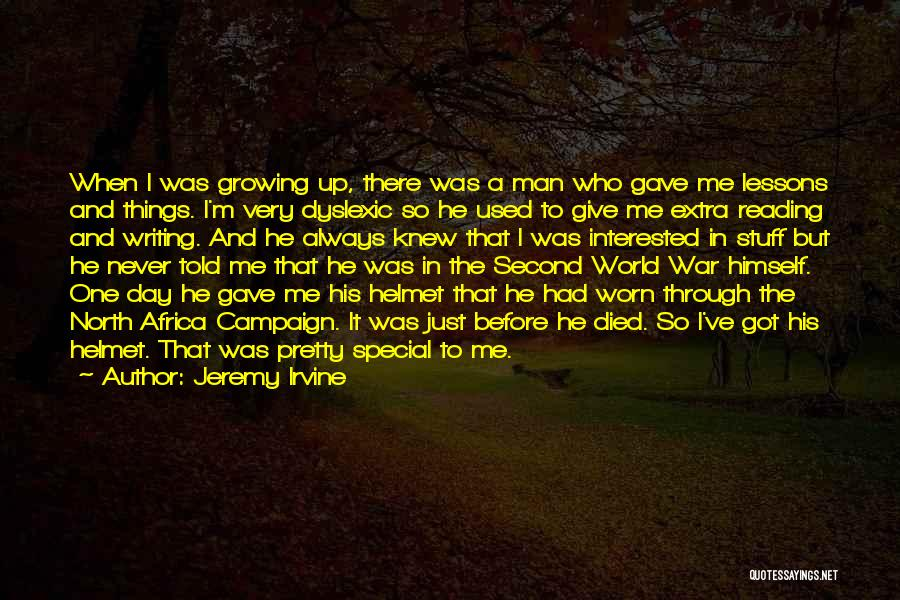 U Never Knew Me Quotes By Jeremy Irvine