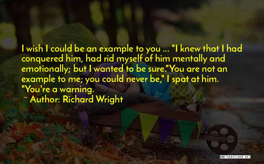 U Never Knew Me Quotes By Richard Wright