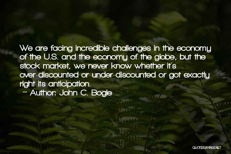U Never Know Quotes By John C. Bogle