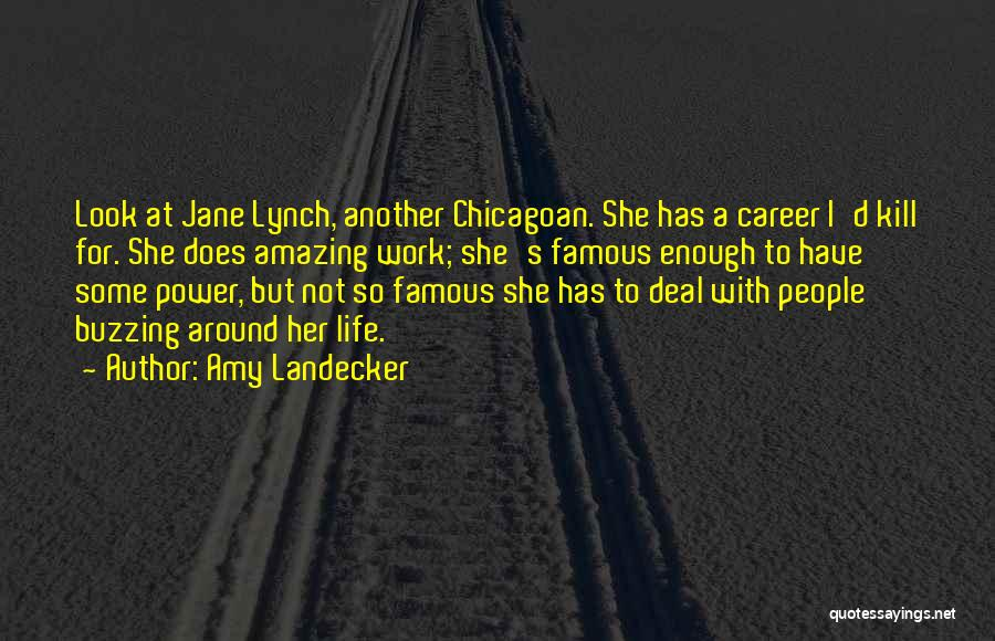 U R Amazing Quotes By Amy Landecker