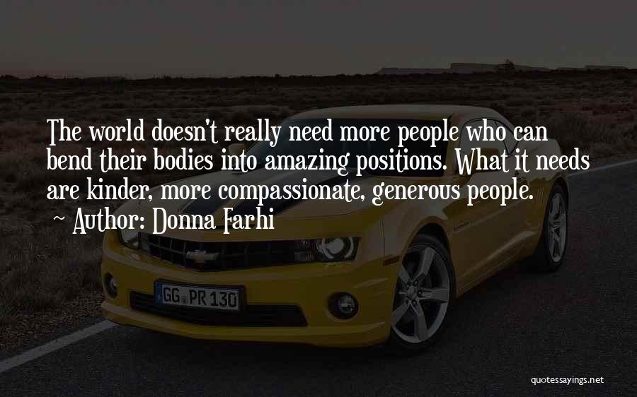 U R Amazing Quotes By Donna Farhi