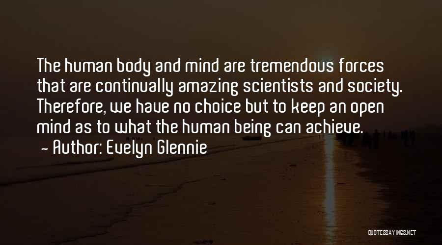 U R Amazing Quotes By Evelyn Glennie