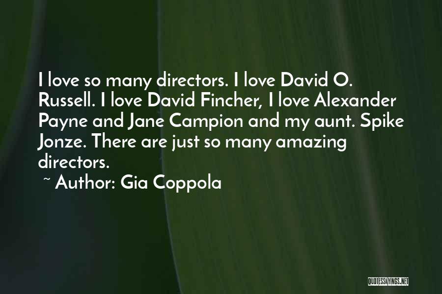 U R Amazing Quotes By Gia Coppola