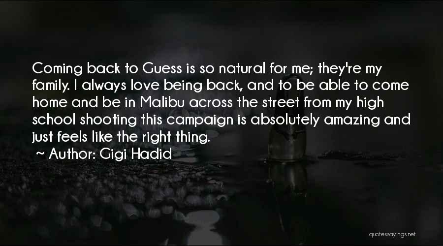 U R Amazing Quotes By Gigi Hadid