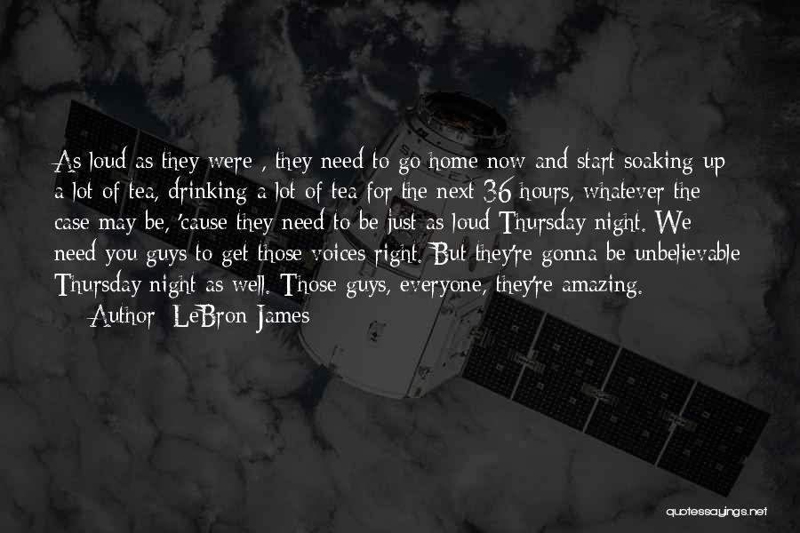 U R Amazing Quotes By LeBron James