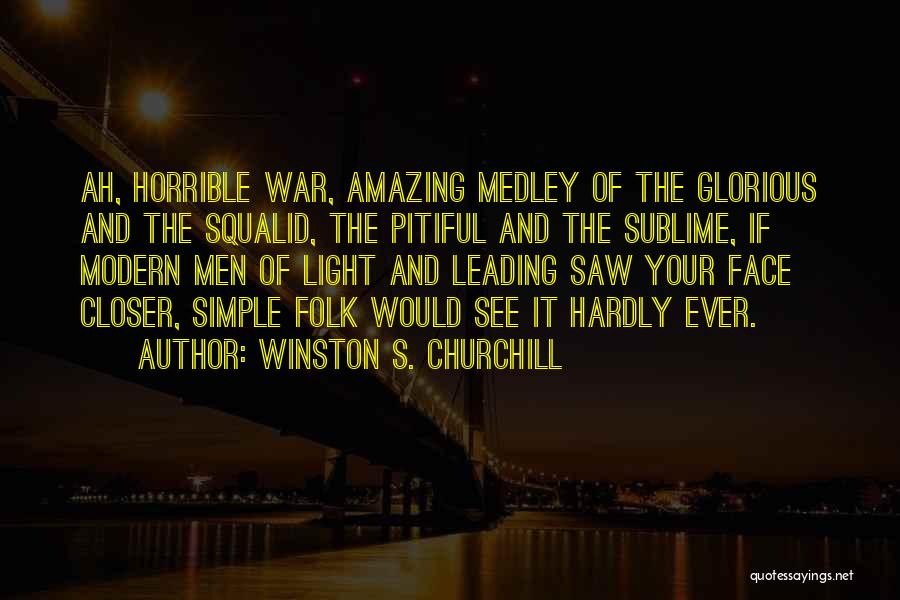 U R Amazing Quotes By Winston S. Churchill