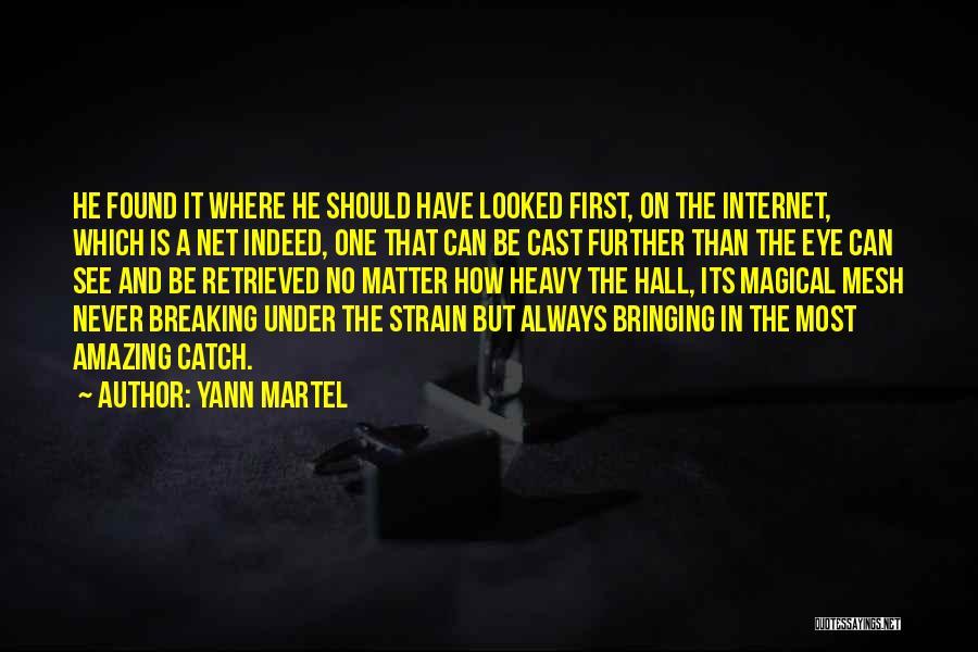 U R Amazing Quotes By Yann Martel