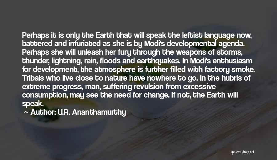 U.R. Ananthamurthy Quotes 650975