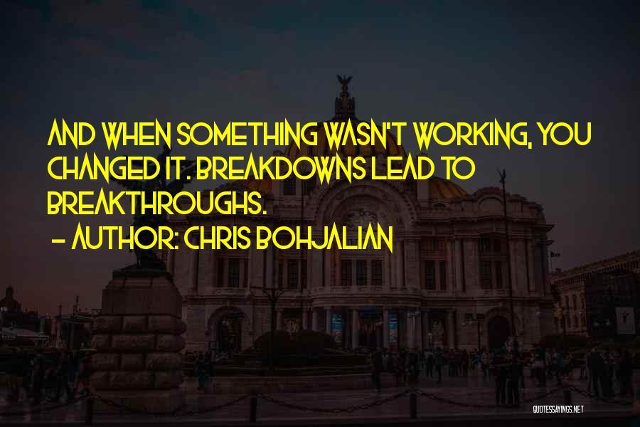 U R Changed Quotes By Chris Bohjalian
