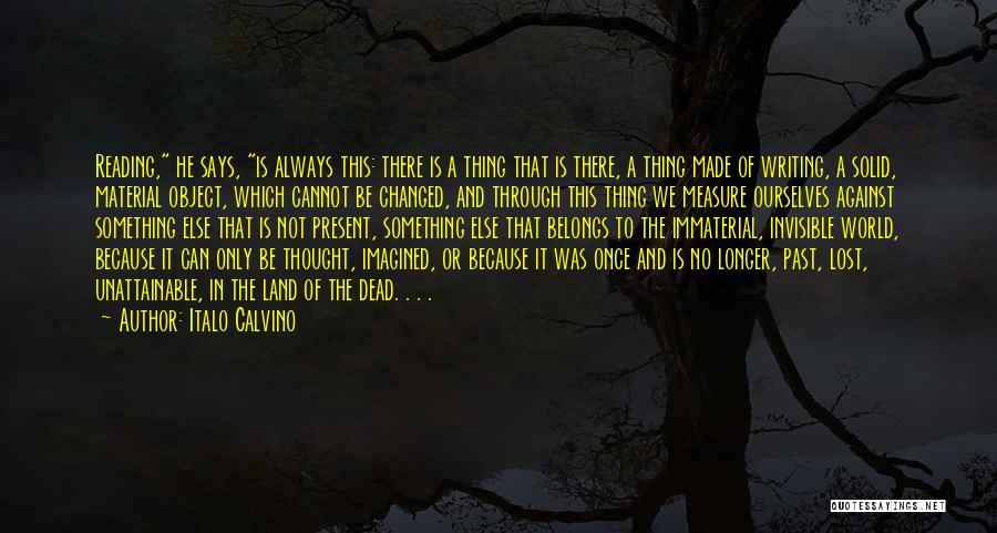 U R Changed Quotes By Italo Calvino