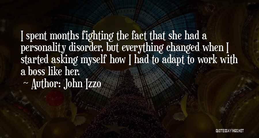 U R Changed Quotes By John Izzo
