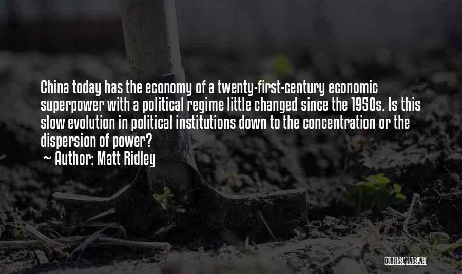 U R Changed Quotes By Matt Ridley