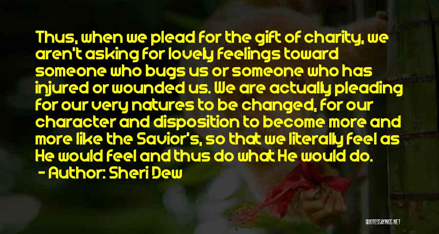 U R Changed Quotes By Sheri Dew