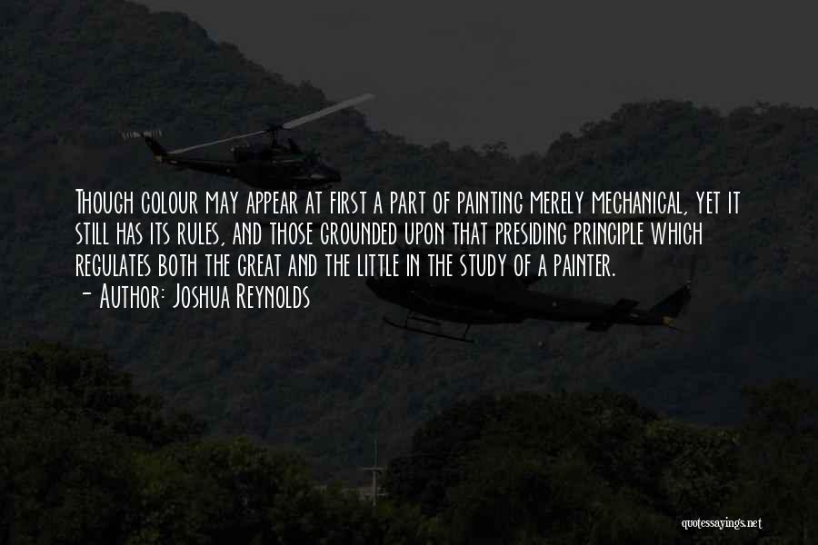 U R Great Quotes By Joshua Reynolds