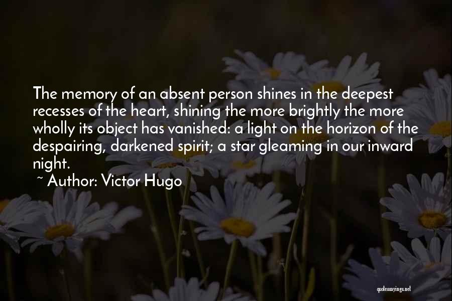 U R My Shining Star Quotes By Victor Hugo