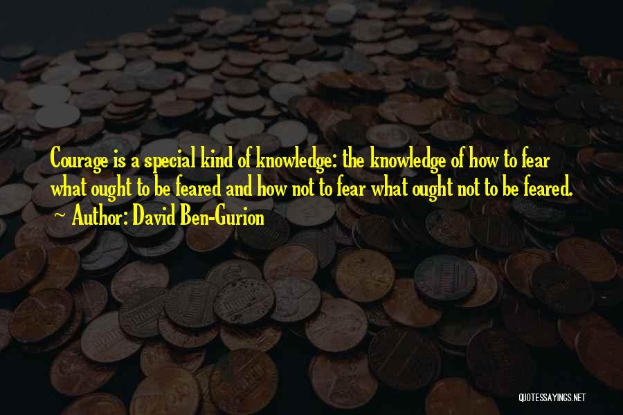 U R So Special For Me Quotes By David Ben-Gurion