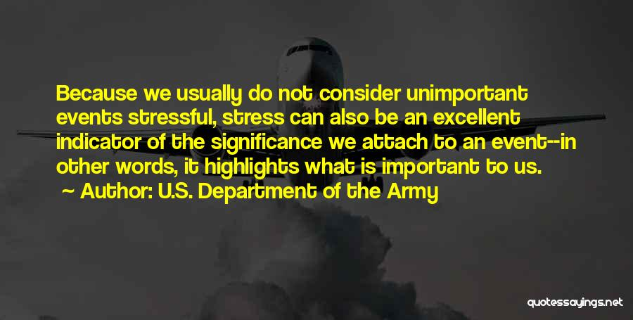 U.S. Department Of The Army Quotes 1741021