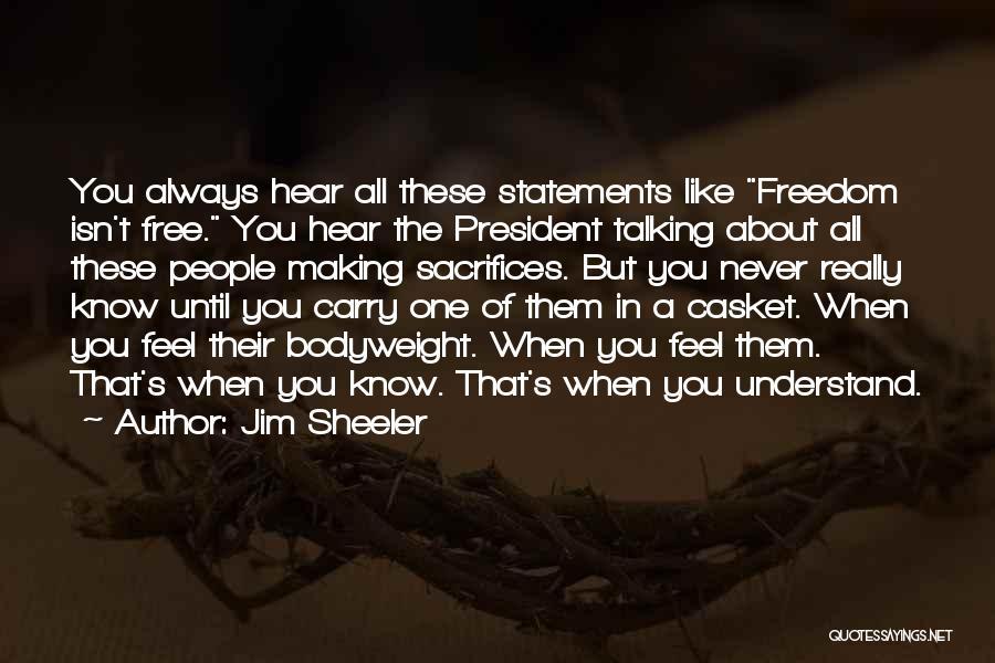 U.s. Marines Quotes By Jim Sheeler