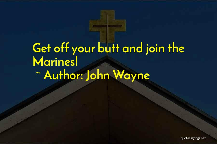 U.s. Marines Quotes By John Wayne