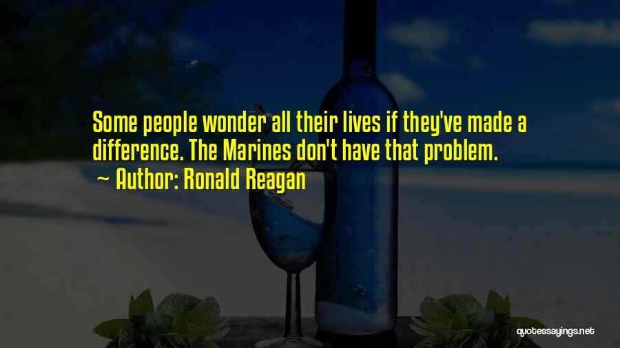 U.s. Marines Quotes By Ronald Reagan