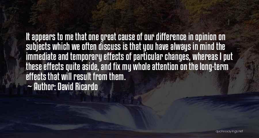 Ucapan Selamat Ulang Tahun Quotes By David Ricardo