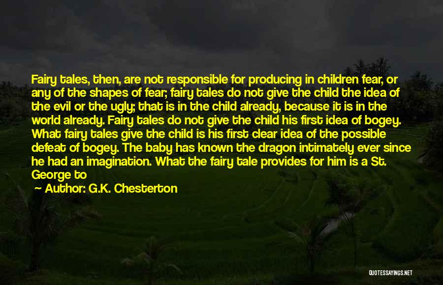Ugly Pictures Quotes By G.K. Chesterton