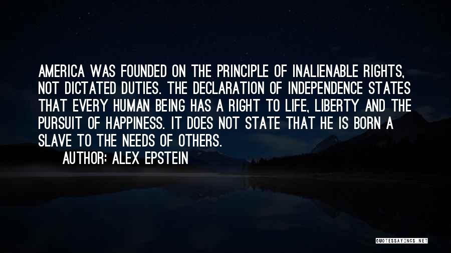 Un Declaration Of Human Rights Quotes By Alex Epstein
